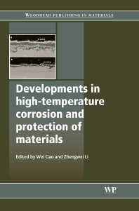 Cover image for Developments in High Temperature Corrosion and Protection of Materials