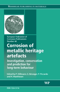 Cover image for Corrosion of Metallic Heritage Artefacts