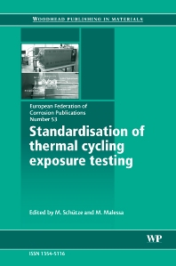 Standardisation of Thermal Cycling Exposure Testing - 1st Edition - ISBN: 9781845692735, 9781845693473