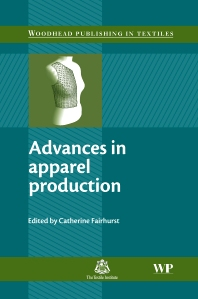 Advances in Apparel Production, 1st Edition,C. Fairhurst,ISBN9781845692957