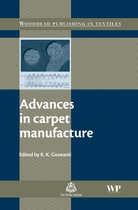 Cover image for Advances in Carpet Manufacture