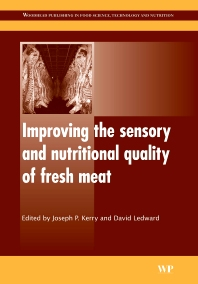 Cover image for Improving the Sensory and Nutritional Quality of Fresh Meat