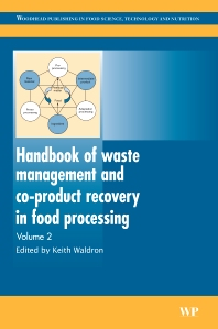 Handbook of Waste Management and Co-Product Recovery in Food Processing, 1st Edition,Keith W. Waldron,ISBN9781845693916