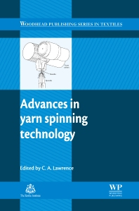 Cover image for Advances in Yarn Spinning Technology