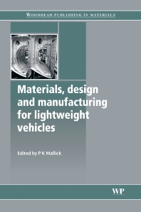 Cover image for Materials, Design and Manufacturing for Lightweight Vehicles