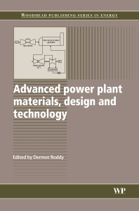 Cover image for Advanced Power Plant Materials, Design and Technology