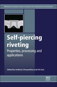 Self-Piercing Riveting - 1st Edition - ISBN: 9781845695354, 9780857098849