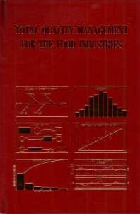 Cover image for Total Quality Management for the Food Industries