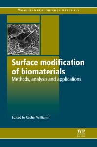 Cover image for Surface Modification of Biomaterials