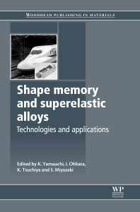 Cover image for Shape Memory and Superelastic Alloys