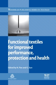 Cover image for Functional Textiles for Improved Performance, Protection and Health