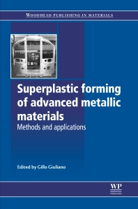 Cover image for Superplastic Forming of Advanced Metallic Materials