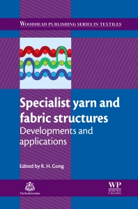 Cover image for Specialist Yarn and Fabric Structures