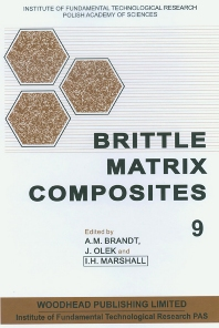 Cover image for Brittle Matrix Composites 9