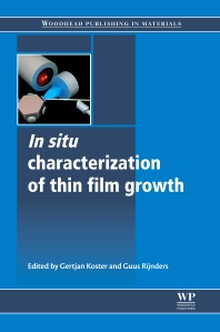 Cover image for In Situ Characterization of Thin Film Growth