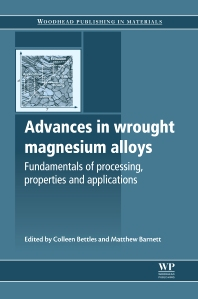 Cover image for Advances in Wrought Magnesium Alloys