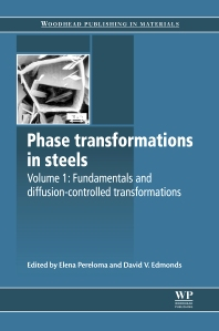Phase Transformations in Steels, 1st Edition,Elena Pereloma,David Edmonds,ISBN9781845699703