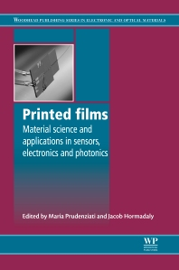 Printed Films - 1st Edition - ISBN: 9781845699888, 9780857096210