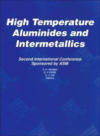 High Temperature Aluminides and Intermetallics - 1st Edition - ISBN: 9781851668229, 9781483292571