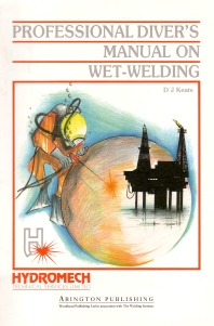 Cover image for Professional Diver's Manual on Wet-Welding