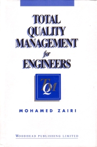Cover image for Total Quality Management for Engineers