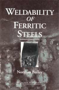 Weldability of Ferritic Steels - 1st Edition - ISBN: 9781855730922, 9781845698935