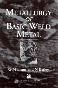 Cover image for Metallurgy of Basic Weld Metal