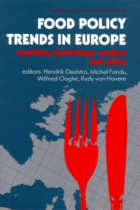 Food Policy Trends in Europe - 1st Edition - ISBN: 9781855732841, 9781845698324