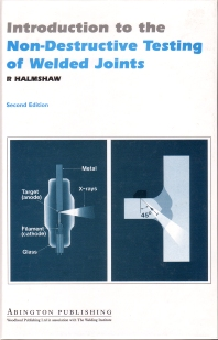 Cover image for Introduction to the Non-Destructive Testing of Welded Joints