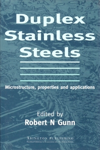 Cover image for Duplex Stainless Steels