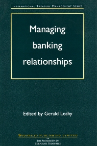 Cover image for Managing Banking Relationships