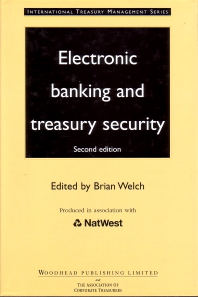 Cover image for Electronic Banking and Treasury Security