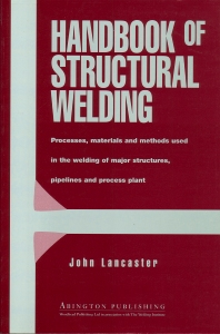 Cover image for Handbook of Structural Welding