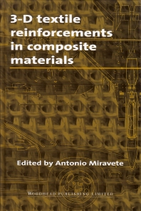 Cover image for 3-D Textile Reinforcements in Composite Materials