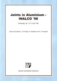 Cover image for Joints in Aluminium – INALCO '98