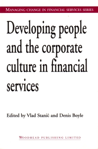 Cover image for Developing People and the Corporate Culture in Financial Services