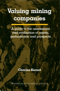 Valuing Mining Companies - 1st Edition - ISBN: 9781855734357, 9781782420095