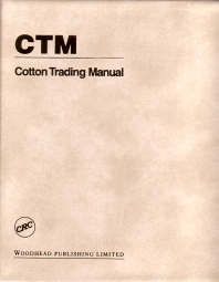 Cotton Trading Manual - 1st Edition - ISBN: 9781855734395, 9781845690922