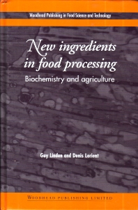 Cover image for New Ingredients in Food Processing