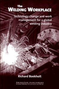 The Welding Workplace - 1st Edition - ISBN: 9781855734456, 9781855738850