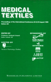 Medical Textiles - 1st Edition - ISBN: 9781855734944, 9781845693145