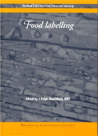 Food Labelling - 1st Edition - ISBN: 9781855734968, 9781855736368