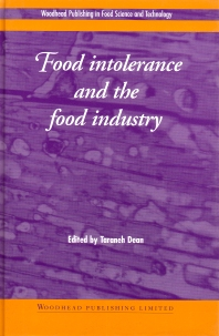 Cover image for Food Intolerance and the Food Industry