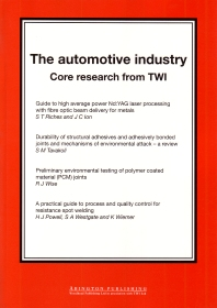 The Automotive Industry - 1st Edition - ISBN: 9781855735156