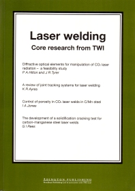 Laser Welding - 1st Edition - ISBN: 9781855735187