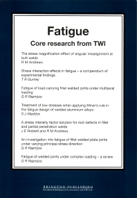 Cover image for Fatigue