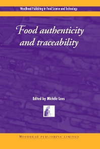 Food Authenticity and Traceability - 1st Edition - ISBN: 9781855735262, 9781855737181