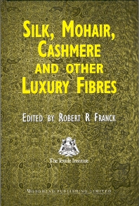 Cover image for Silk, Mohair, Cashmere and Other Luxury Fibres