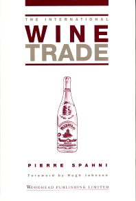 The International Wine Trade - 2nd Edition - ISBN: 9781855735422, 9781855738942