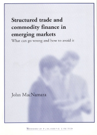 Cover image for Structured Trade and Commodity Finance in Emerging Markets